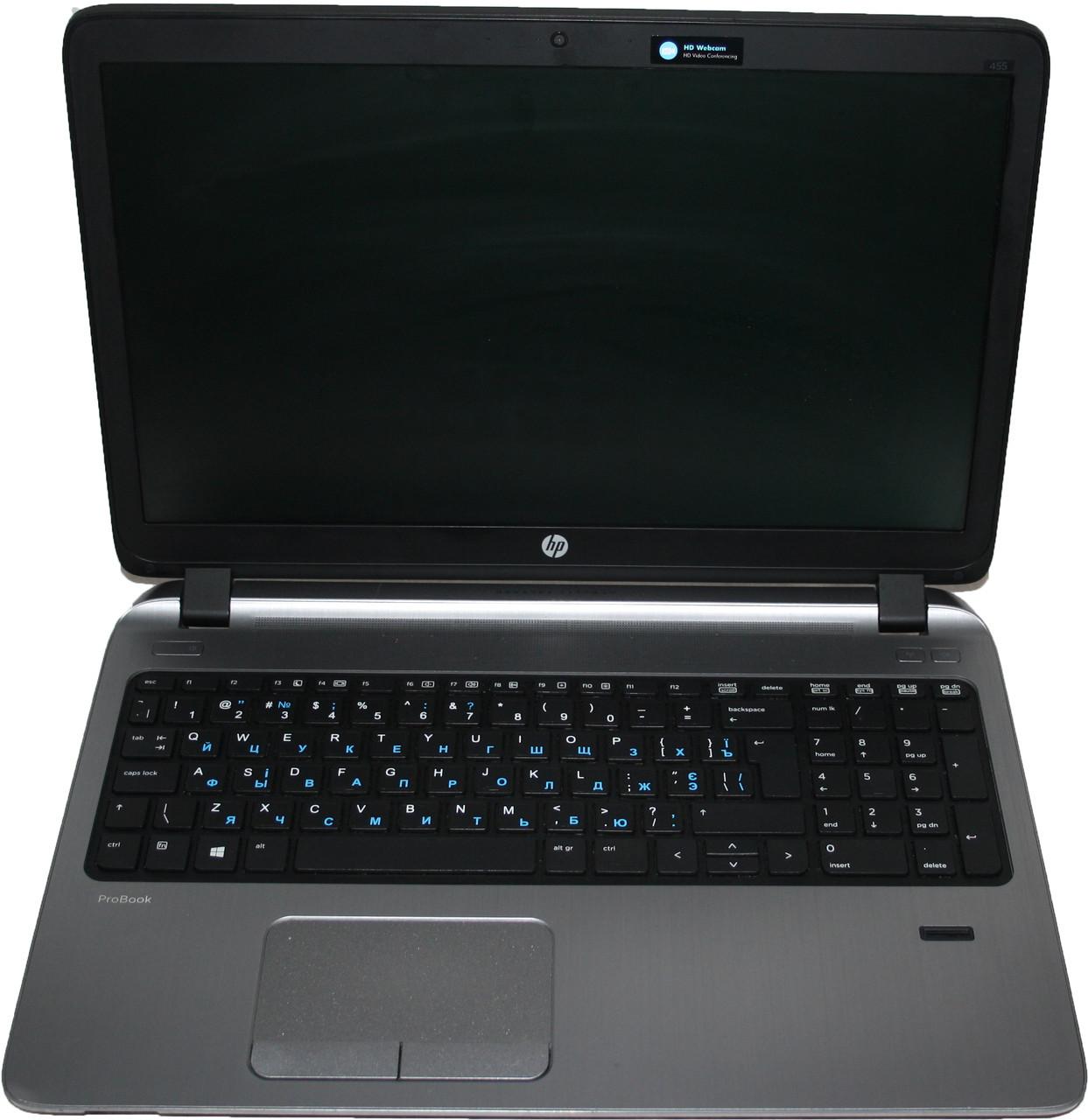Ноутбук Б/У HP 455 G2 AMD A8-7100 /RAM 4GB/ HDD 500