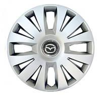 "Колпаки для колес 15"" c логотипом автомобиля 4 шт (SKS 324) Mazda"