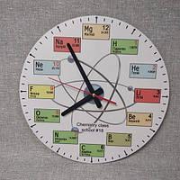 Настенные часы для Кабинета химии 45 см