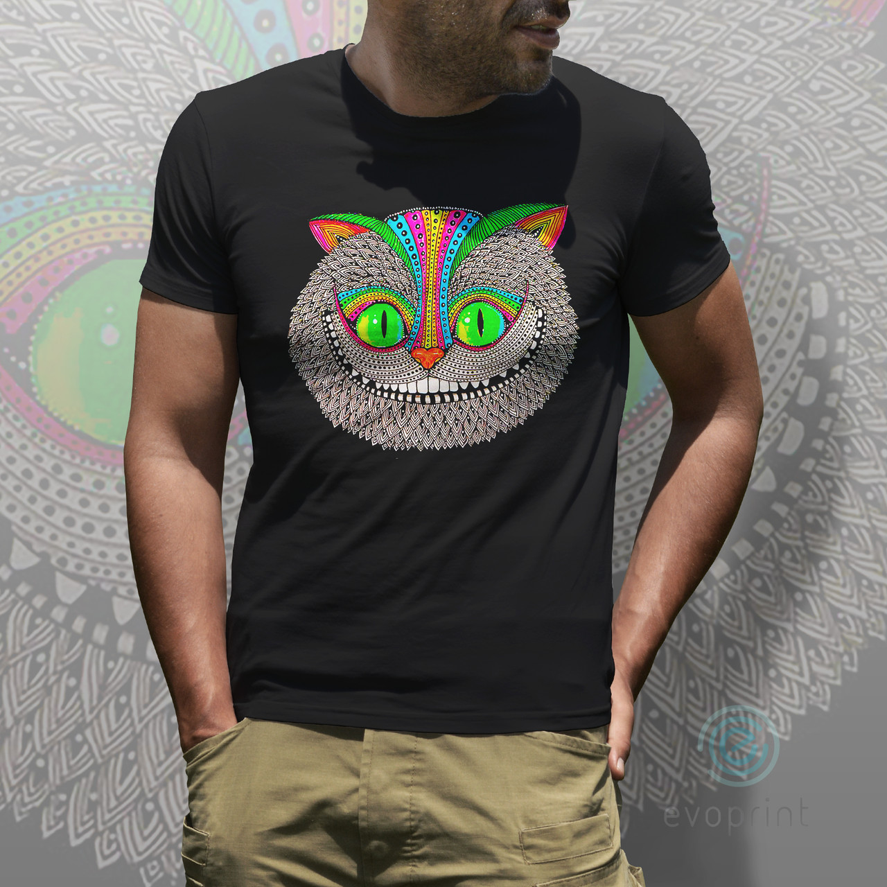 Печать на черных и цветных футболках