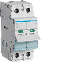 Выключатель напряжения (рубильник) 2-полюсний 125А/400В (SBN299)