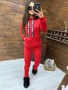 Женский утепленный флисом спортивный костюм с худи 52so818, фото 6