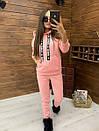 Женский утепленный флисом спортивный костюм с худи 52so818, фото 7