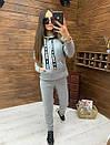 Женский утепленный флисом спортивный костюм с худи 52so818, фото 9