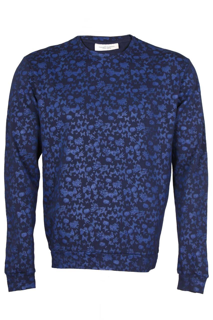 Свитшот мужской темно-синий Tokyo от Tailored &Originals в размере L 50/52