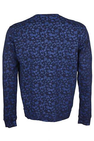 Свитшот мужской темно-синий Tokyo от Tailored &Originals в размере L 50/52, фото 2