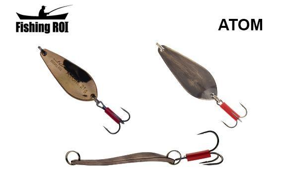Блесна Fishing ROI Atom 14гр (SF04306-14-007) Латунь