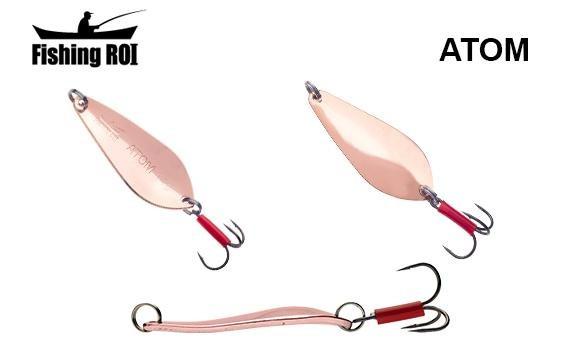 Блесна Fishing ROI Atom 17гр (SF04306-17-003) Медь