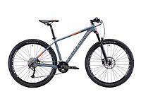 """Велосипед Cyclone LX 27,5"""" серый матовый"""