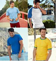 Мужские футболки Fruit of the loom