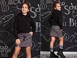 Худі з капюшоном, чорний, B&B Angel, р. 140 146 152, фото 2