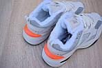 Женские зимние кроссовки Nike M2K Tekno (бежево-оранжевые), фото 5