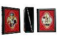 """Книги в кожаном переплете и подарочном футляре """"Чудотворные иконы"""" (3 тома), фото 2"""