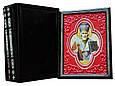 """Книги в кожаном переплете и подарочном футляре """"Чудотворные иконы"""" (3 тома), фото 3"""