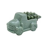 Декор Автомобиль с ёлкой 12см 109289