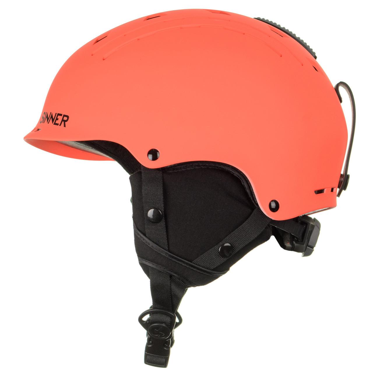 Шолом гірськолижний Sinner Pincher XS Matte Neon Orange (SIHE-136-60Z-54)