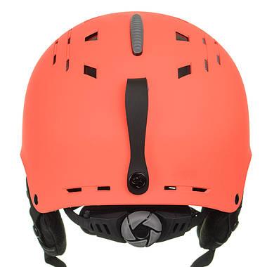 Шолом гірськолижний Sinner Pincher XS Matte Neon Orange (SIHE-136-60Z-54), фото 3