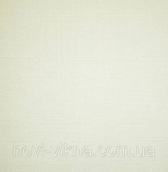 Рулонные жалюзи открытого типа, Len 0875, ваниль.