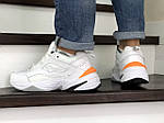 Мужские зимние кроссовки Nike Air Monarch (белые), фото 3