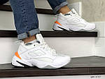 Мужские зимние кроссовки Nike Air Monarch (белые), фото 4