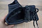 Мужские зимние ботинки Caterpillar (CAT) - черные, фото 3