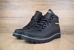 Мужские зимние ботинки Caterpillar (CAT) - черные, фото 4