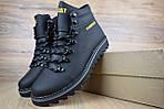 Мужские зимние ботинки Caterpillar (CAT) - черные, фото 5