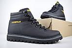 Мужские зимние ботинки Caterpillar (CAT) - черные, фото 7