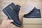 Мужские зимние ботинки Caterpillar (CAT) - черные, фото 8