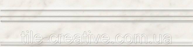 Керамическая плитка Бордюр Багет Ретиро белый20x5x19 BLB040