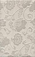 Керамическая плитка Сады Сабатини серый структура25x40x8,8 6393