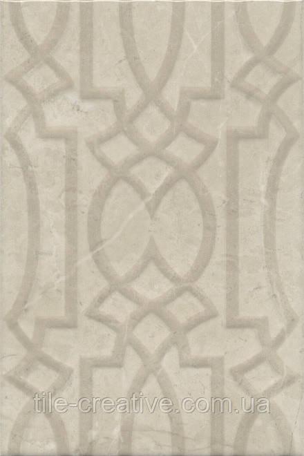 Керамическая плитка Эль-Реаль кремовый структура20x30x7,7 8317