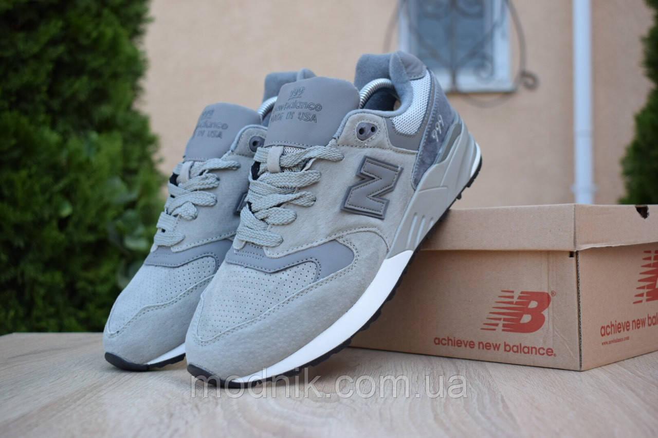 Мужские кроссовки New Balance 999 (серые)