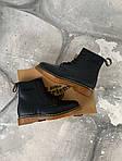 Женские зимние ботинки Dr. Martens (черные), фото 2