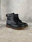 Женские зимние ботинки Dr. Martens (черные), фото 3