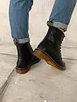 Женские зимние ботинки Dr. Martens (черные), фото 4