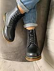 Женские зимние ботинки Dr. Martens (черные), фото 5
