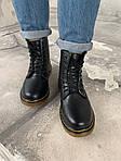 Женские зимние ботинки Dr. Martens (черные), фото 6