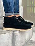 Мужские зимние ботинки UGG David Beckham Boots (черные), фото 2