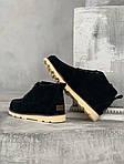 Мужские зимние ботинки UGG David Beckham Boots (черные), фото 3