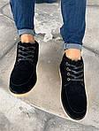 Мужские зимние ботинки UGG David Beckham Boots (черные), фото 5