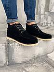 Мужские зимние ботинки UGG David Beckham Boots (черные), фото 6