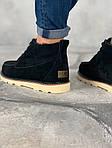 Мужские зимние ботинки UGG David Beckham Boots (черные), фото 7