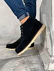 Мужские зимние ботинки UGG David Beckham Boots (черные), фото 8