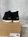 Мужские зимние ботинки UGG David Beckham Boots (черные), фото 9