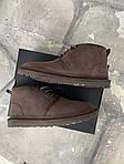 Мужские зимние ботинки UGG Brown (коричневые), фото 7