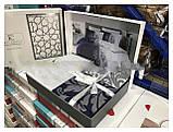 Комплект постільної білизни сатин first choice Hypnoz lacivert, фото 2