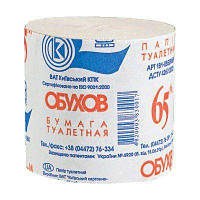 Бумага туалетная Обухов, 1 рулон