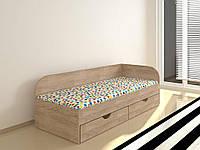 Подростковая кровать Соня-2 с ящиками для белья. Детская кровать