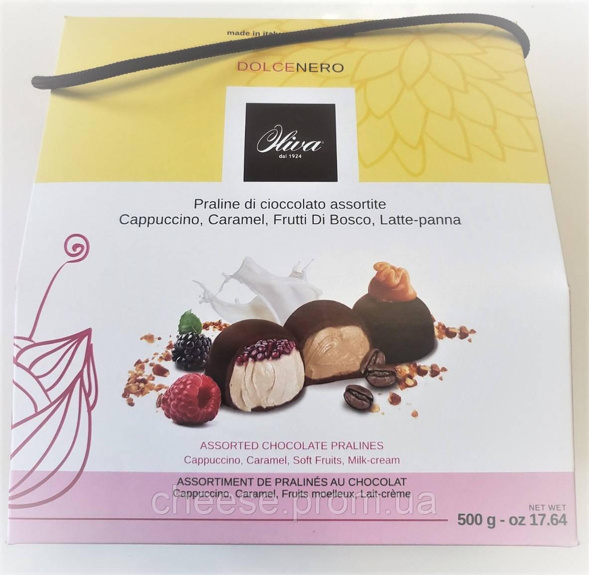 Конфеты ассорти ягоды, карамель, молочный шоколад 500гр ТМ Олива